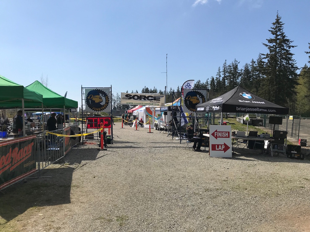 JYD 18 finish area